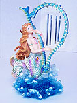 Mermaid & Harp Wind Chime