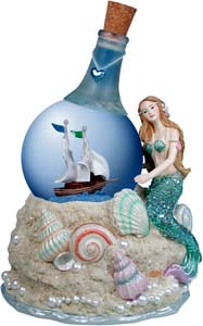 Mermaids Unlimited.Com - Aurora :  mermaids globe aurora nautical
